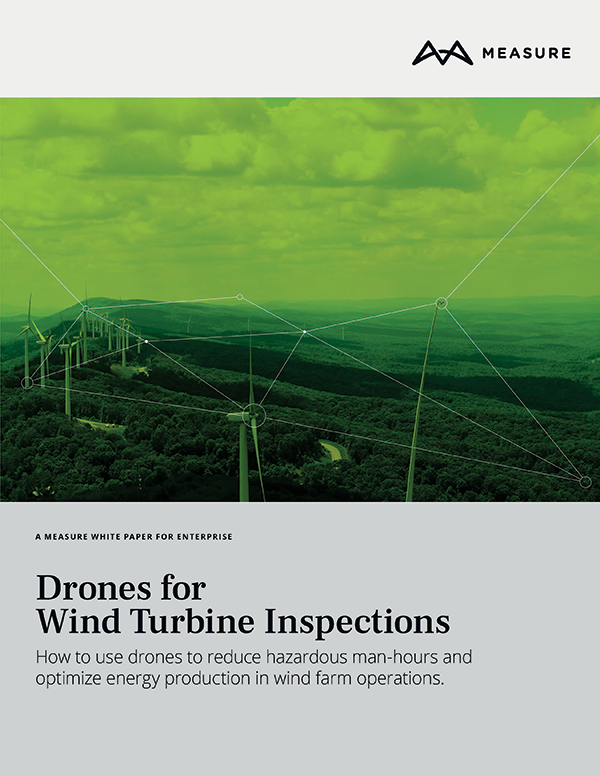 Drones for wind turbine