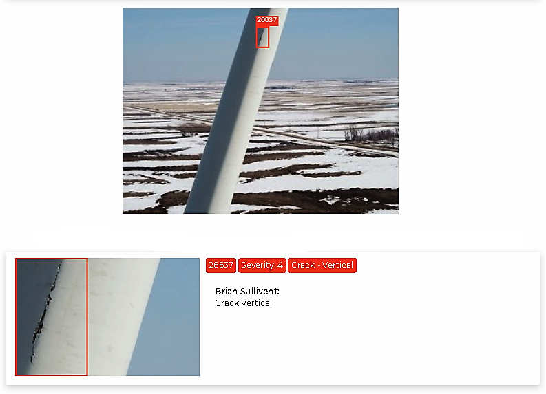 Wind Turbine Inspection Results