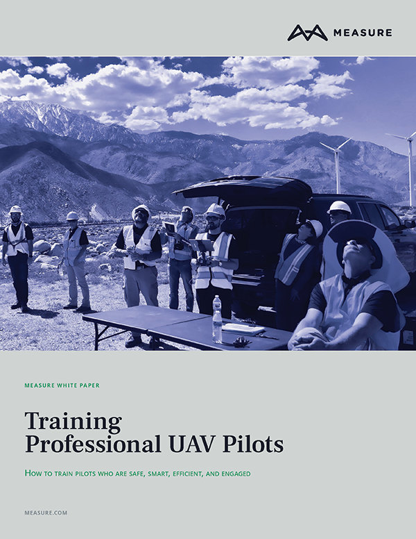Training UAV pilots whitepaper