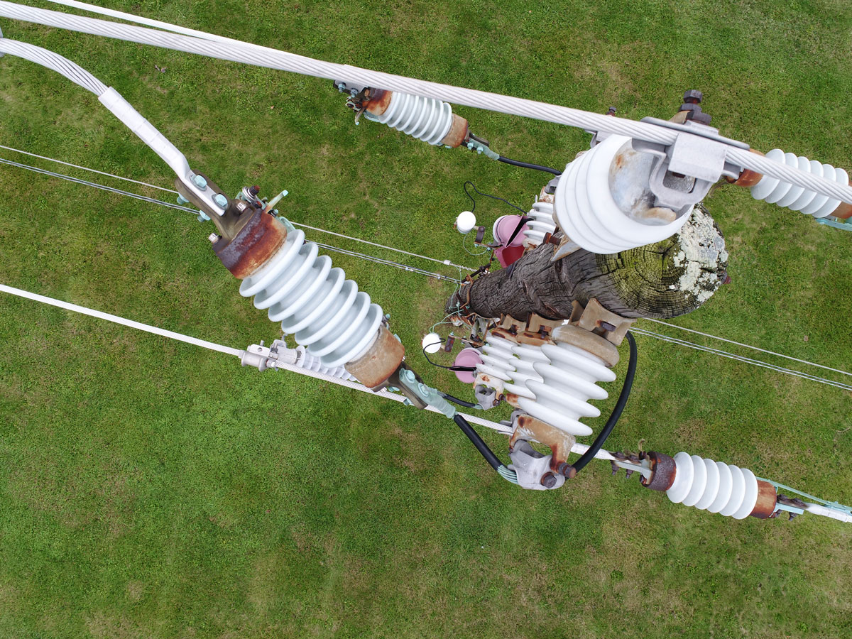 utility inspection by drone
