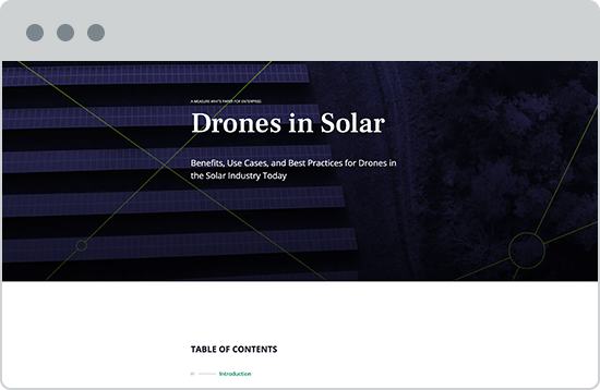 Aerial Inspections and Data Analysis for Solar Energy | Measure