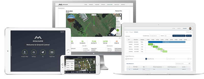 Drone Program Management Software Family