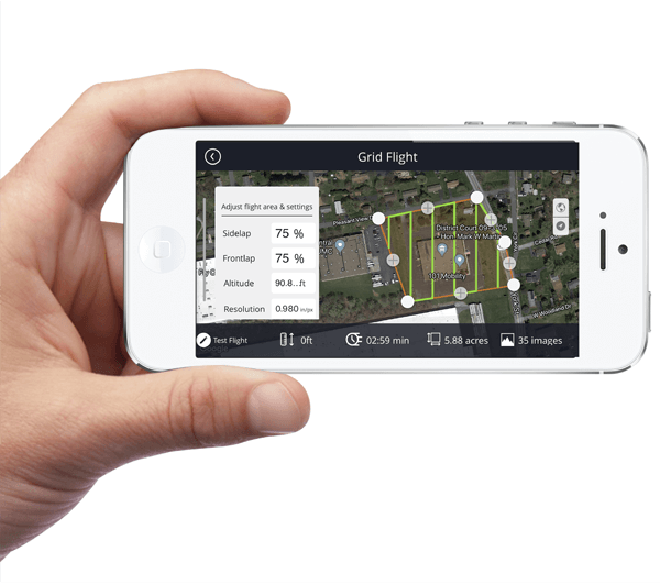 Drone Mobile Flight App
